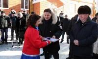 Владимир Груздев и руководители Фонда содействия реформированию ЖКХ в Кимовске , Фото: 11