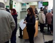Туляки стоят в очередях на оплату ЖКУ, несмотря на отсутствие штрафов и призывы к самоизоляции, Фото: 3