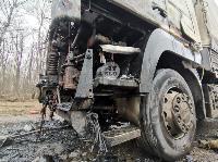 В Петелино сгорел грузовик, Фото: 4