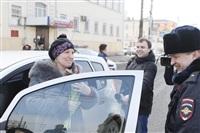 Полицейские поздравили автоледи с 8 Марта, Фото: 19