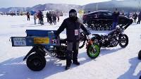Мотороллер «Алексей Геннадьевич» из Тулы установил рекорд скорости на «Байкальской миле», Фото: 38