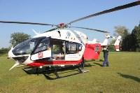 Пострадавшего в ДТП в Веневском районе на вертолете эвакуировали в столичную клинику, Фото: 2