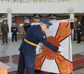 Церемония крепления Боевого знамени к древку, Фото: 8