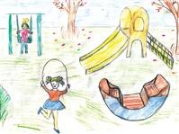 Сабрина Махмадбекова (4 класс СОШ №14, пос. Бегичевский  Богородицкого района): «О новом городке мечтаем всей школой!», Фото: 4