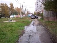 Засор в канализационном колодце в районе дома №2-Д по ул. Гарнизонный проезд, Фото: 5