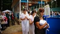 Крещение жителей Новомосковска, Фото: 14