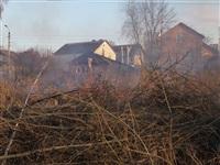 Возгорание сухой травы на ул.Комбайновая, Фото: 4