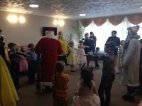 Для детей украинских переселенцев организовали новогоднюю праздничную программу, Фото: 3