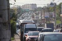 Пробка в Зареченском районе Тулы, Фото: 1