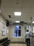 1 февраля 2016 года. Потолки в регистратуре областного противотуберкулёзного диспансера №1., Фото: 2