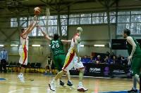 Тульские баскетболисты «Арсенала» обыграли черкесский «Эльбрус», Фото: 33