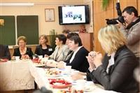 Встреча губернатора с учителями 11 гимназии, Фото: 10