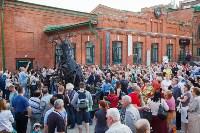 В Туле открыли скульптуру «блохе-киборгу», Фото: 65