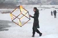 Как туляки провожали зиму на набережной Упы, Фото: 112