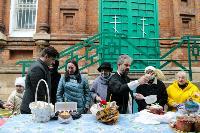Туляки освящают пасхи и куличи, Фото: 32