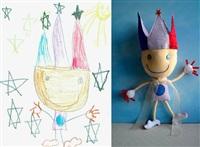 Игрушки, сшитые по рисункам детей, Фото: 8