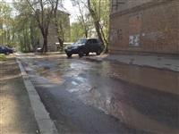В центре Тулы хлещет вода, Фото: 11
