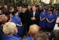 Алексей Дюмин пообщался с сотрудниками ЗАО «Донская обувь», Фото: 19