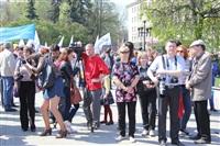 Тульская Федерация профсоюзов провела митинг и первомайское шествие. 1.05.2014, Фото: 87