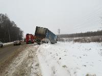 На Одоевском шоссе в Туле у водителя фуры отказало сердце, Фото: 5