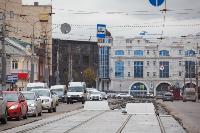 На ул. Советской в Туле убрали дорожные ограждения с трамвайных путей, Фото: 8