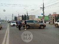 В Туле внедорожник подрезал мотоциклиста, Фото: 2