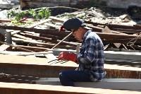 Груздев инспектирует строительство бассейна на Гоголевской. 3.08.2015, Фото: 18