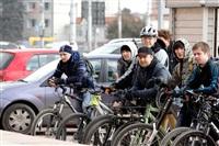 По центральным улицам Тулы прошел велопробег, Фото: 43