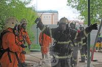 В Туле сотрудники МЧС эвакуировали госпитали госпиталь для больных коронавирусом, Фото: 49