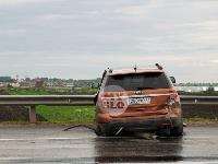 В ДТП на трассе М-2 в Туле у внедорожника оторвало колесо, Фото: 11