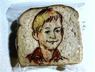 Рисунки на сэндвичах, Фото: 2