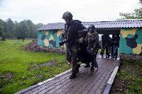 В Туле спецподразделения ОМОН и СОБР провели учения, Фото: 29