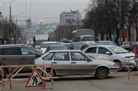 Прорыв водовода на пр. Ленина, Фото: 5