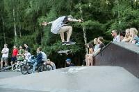 В Туле открылся первый профессиональный скейтпарк, Фото: 56
