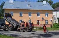 В Пролетарском округе Тулы продолжается асфальтирование дворов, Фото: 10