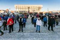 Физкультминутка на площади Ленина. 27.12.2014, Фото: 6