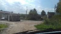 В Алексине перевернулся грузовик., Фото: 3