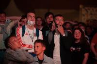 Как туляки поддерживали сборную России в матче с Бельгией, Фото: 13