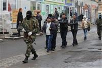 В ходе зачистки на Центральном рынке Тулы задержаны 350 человек, Фото: 15