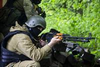 В Туле спецподразделения ОМОН и СОБР провели учения, Фото: 16