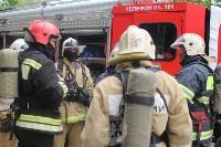 В Туле сотрудники МЧС эвакуировали госпитали госпиталь для больных коронавирусом, Фото: 55