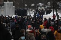 В Туле около 200 человек пришли на несанкционированный митинг, Фото: 12