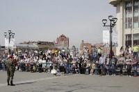 Генеральная репетиция парада Победы в Туле, Фото: 36