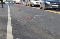 В жутком ДТП на М2 под Тулой сгорели три авто: двое погибли, Фото: 14