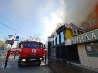 Пожар в пиццерии на Красноармейском, Фото: 2