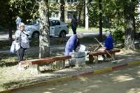 Субботник в Пролетарском округе Тулы, Фото: 65