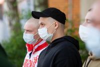 Экспресс-тест на covid-19, маски и социальная дистанция: В Туле первых призывников отправили в армию, Фото: 63