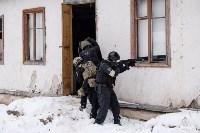 Учения: В Тульской области СОБР и ОМОН обезвредили вооруженных преступников, Фото: 6