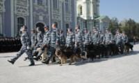 19 сентября в Туле прошла церемония вручения знамени управлению МВД , Фото: 13