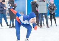 В Туле прошли массовые конькобежные соревнования «Лед надежды нашей — 2020», Фото: 34